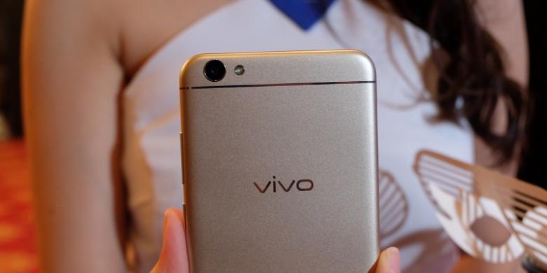Kamera belakang Vivo V5 dengan sensor beresolusi 13 megapiksel