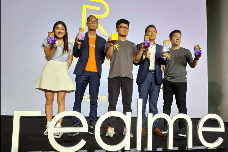 Peluncuran Realme U1 di Jakarta