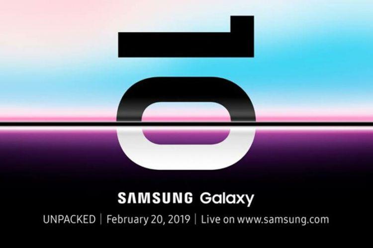Samsung Galaxy S10 Announcement