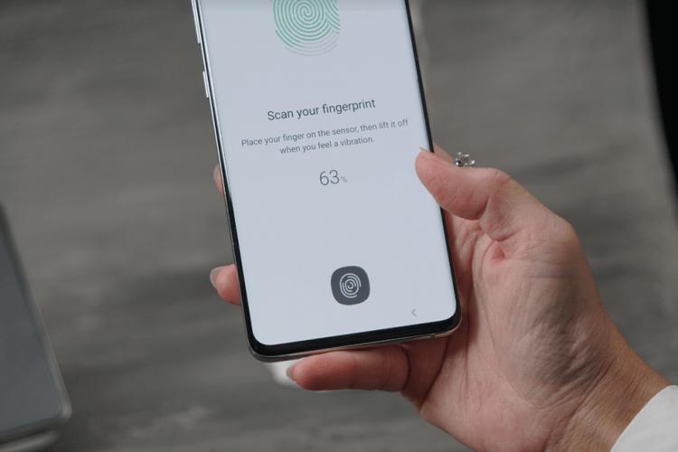 Fingerprint Ultrasonik Samsung Galaxy S10 Plus