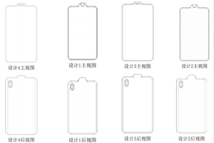 Desain Smartphone Benjol dari Xiaomi