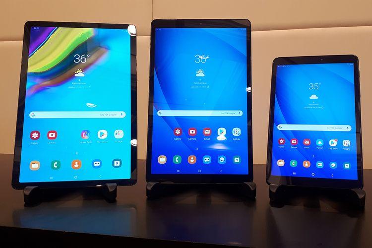 Samsung Galaxy Tab S5e, Tab A, Tab A10
