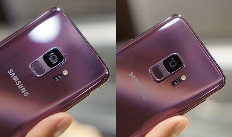 Samsung Galaxy S9 Kamera Aperture