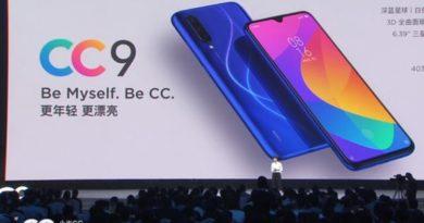 Peluncuran Xiaomi Mi CC 9