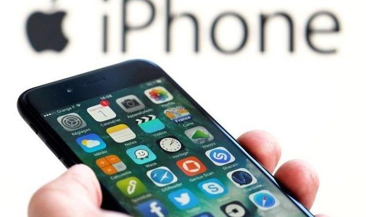 Ilustrasi Pengguna iPhone