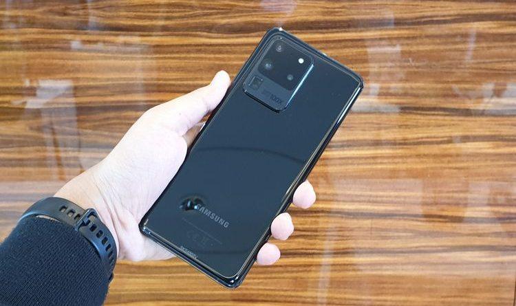 Pengguna Samsung Galaxy S20 Ultra